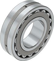 Double Row Spherical Roller Bearings with Tapered Bore