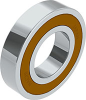Deep Groove Ball Bearings - Two Contact Seals