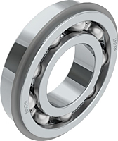 Deep Groove Ball Bearings with Snap Ring