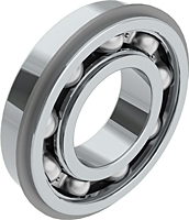 Deep Groove Ball Bearings with Single Shield and Snap Ring (ZENR)