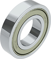 Deep Groove Ball Bearings - Two Shields