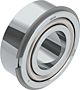 Double Row Angular Contact Ball Bearings with Snap Ring (NR)