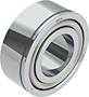 Double Row Angular Contact Ball Bearings with Snap Ring Groove (N)