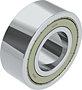 Double Row Angular Contact Ball Bearings - Two Shields (ZZ)