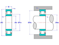 Cylindrical Roller Bearings - NU Design